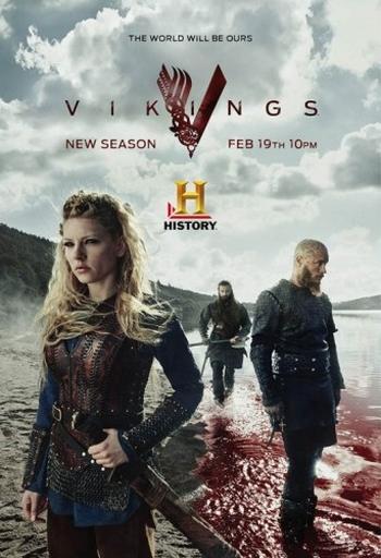 Смотреть Cериал Викинги / Vikings (3 Сезон/2015) смотреть онлайн HD 720